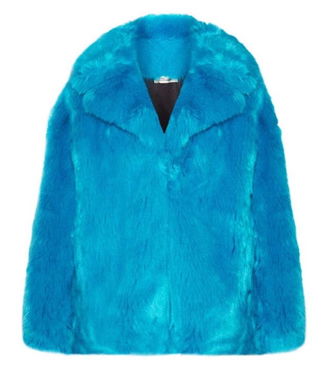 Diane von Furstenberg Oversized Faux Fur Coat