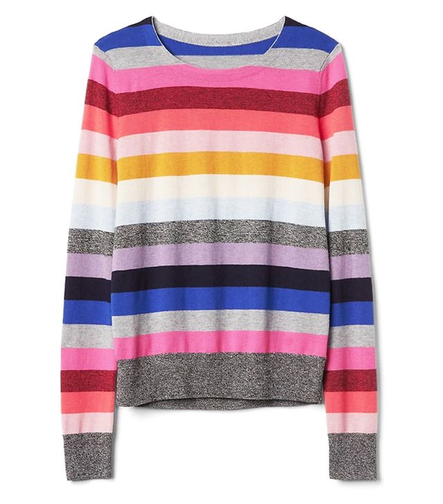 Gap Crazy Stripe Sweater