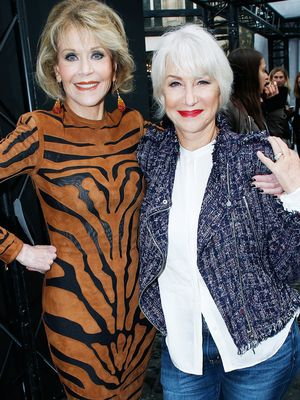 Jane Fonda and Helen Mirren Spill on Makeup and Ageing