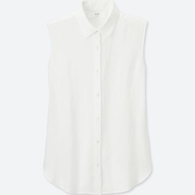 Uniqlo Women Premium Sleeveless Shirt