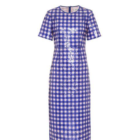 Sequinned Tulle Dress