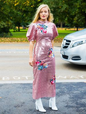 I Can't Help It—I Love a Sequin Dress at Christmas