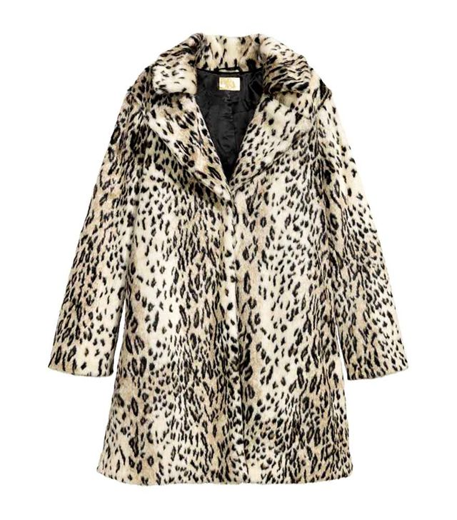 H&M Faux Fur Coat