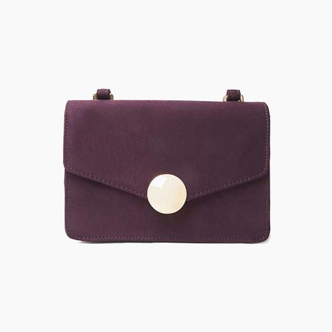 Blackcurrant Lock Cross Body Bag