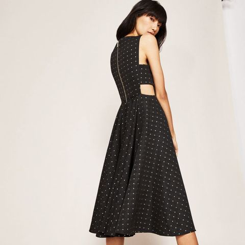 Cut-Out Midi Dress