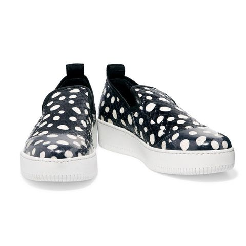 Polka-Dot Elaphe Sneakers