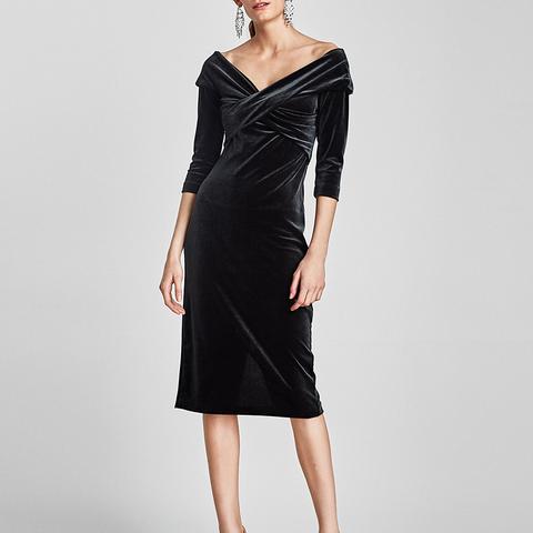 Velvet Tube Dress