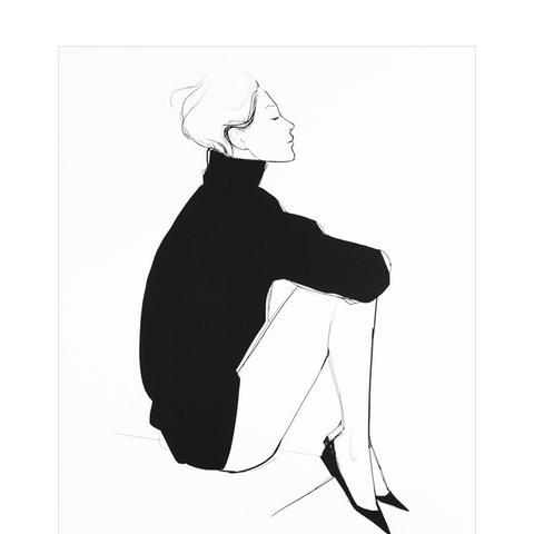 L'Élégance Art Print