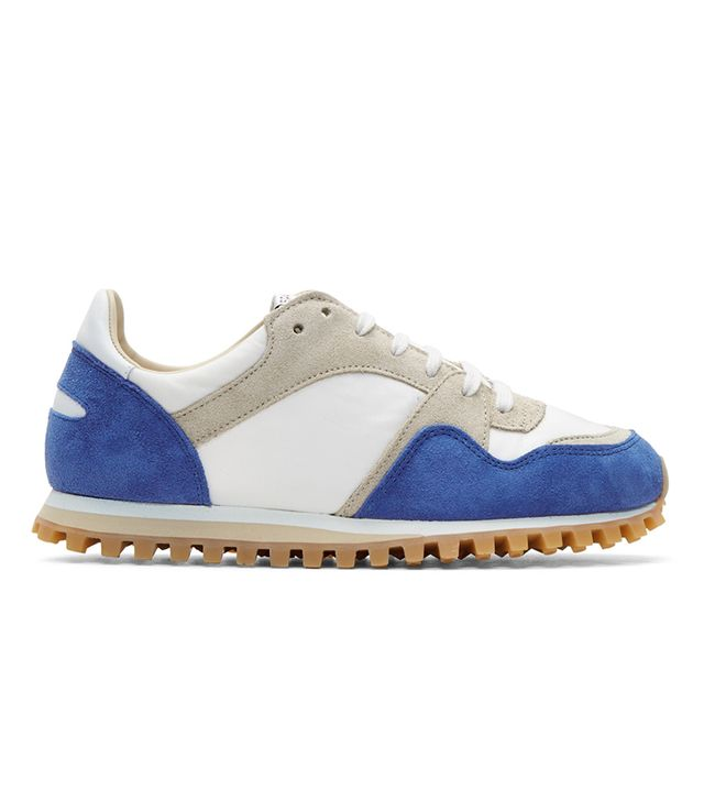 Spalwart Blue & White Marathon Trail Sneakers