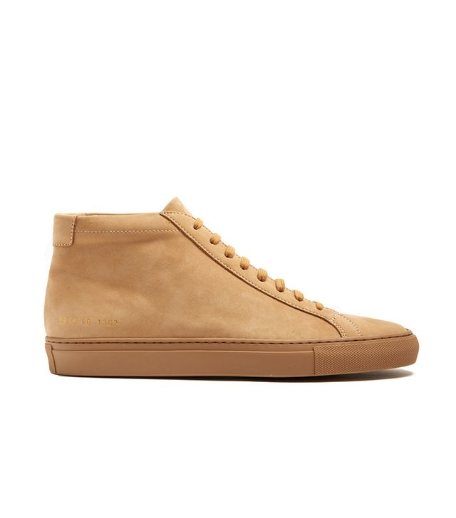 Original Achilles mid-top nubuck trainers