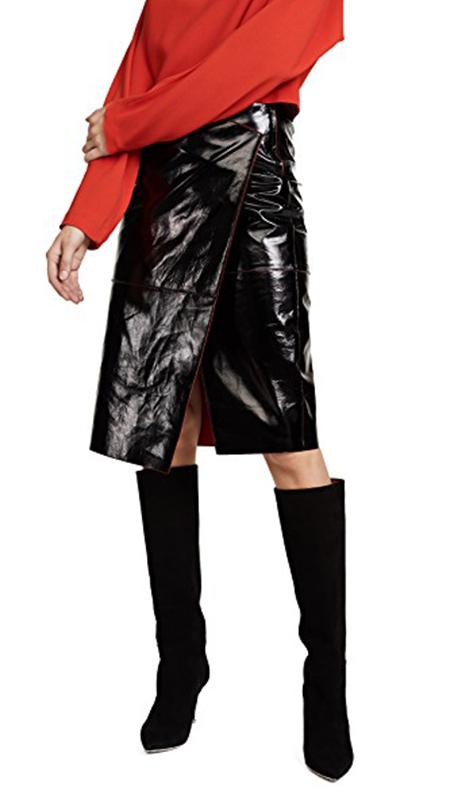 how to wear a pencil skirt: By Malene Birger Izela Skirt