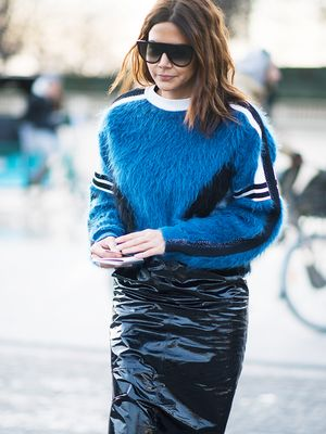 This Exact Kind of Midi Skirt Is the Most Flattering Item You'll Ever Own