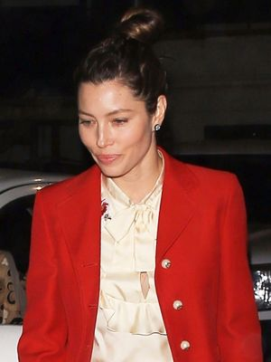 See Jessica Biel and Justin Timberlake's Chic Matching Date-Night Looks