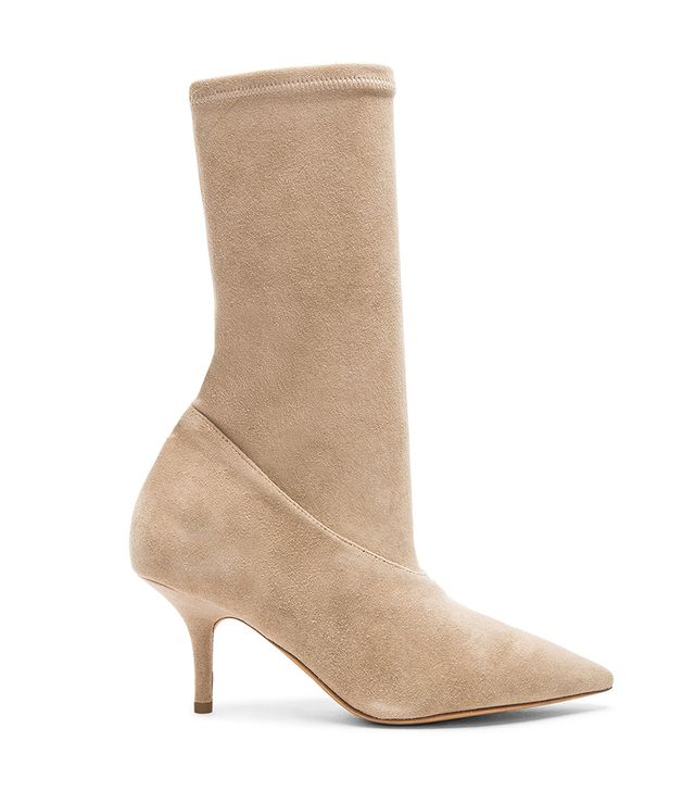Yeezy Season 5 Suede Ankle Boots