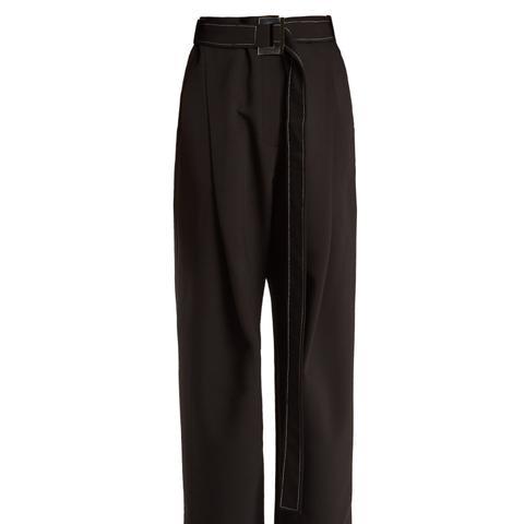 Kool Aid High-Rise Pleated Trousers