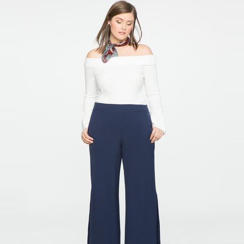 Side Pleat Trouser