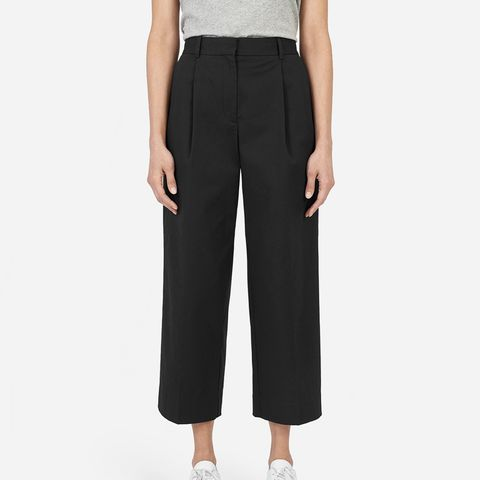 The Twill Crop Pants