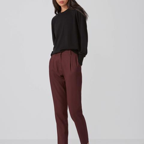The Grant Wool-Gabardine Trousers