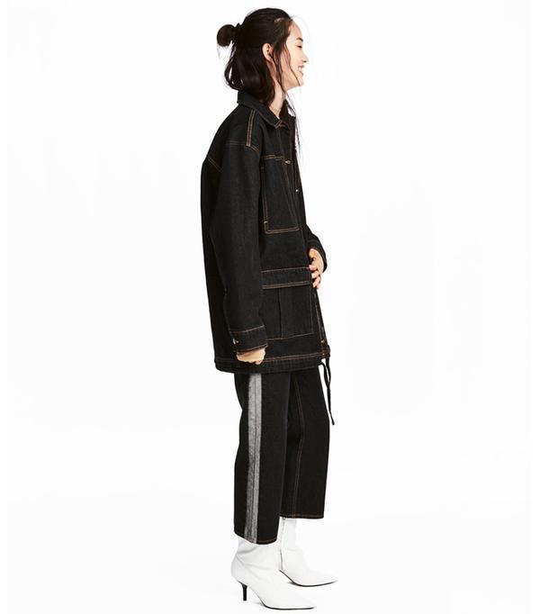 Wide-cut Denim Jacket