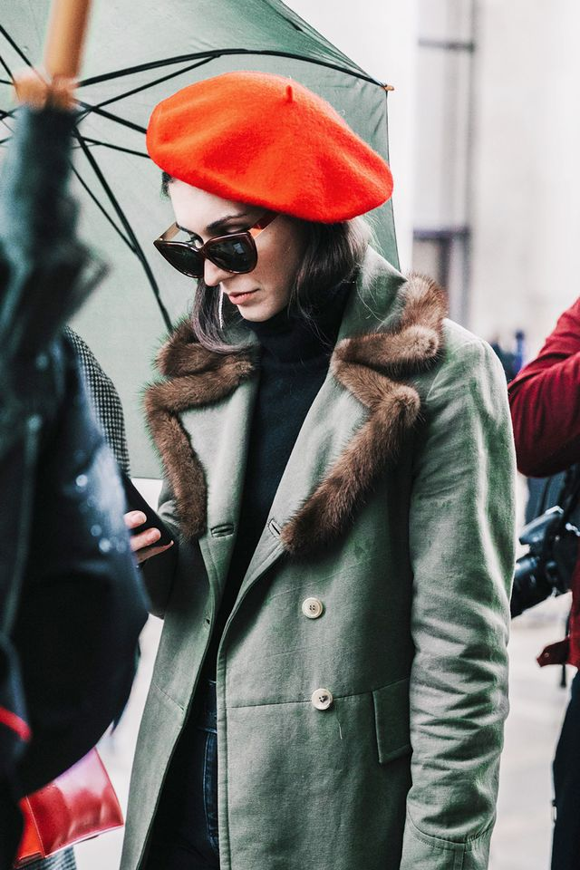 Day 21: Swap your winter beanie for a chic beret.