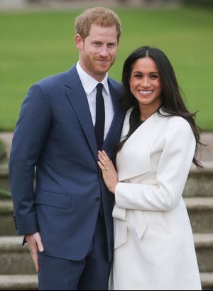 A First Look at Meghan Markle's Engagement Ring
