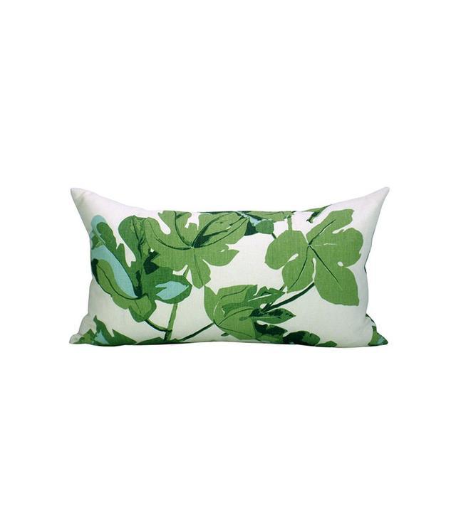 Peter Dunham Textiles Fig Leaf Lumbar Pillow