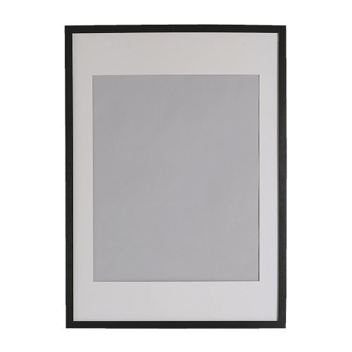 gallery brass 8x10 picture frame with black mat