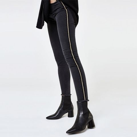 Jeans With Side Detail