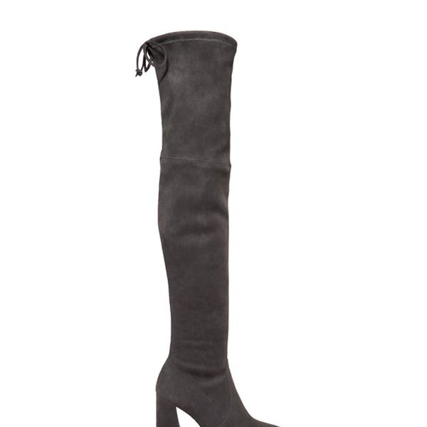Funland Suede Over-the-knee Boots