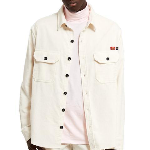Corduroy Long Sleeve Overshirt
