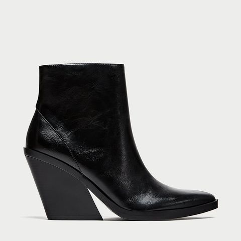 Ankle Boots With Thick Sole