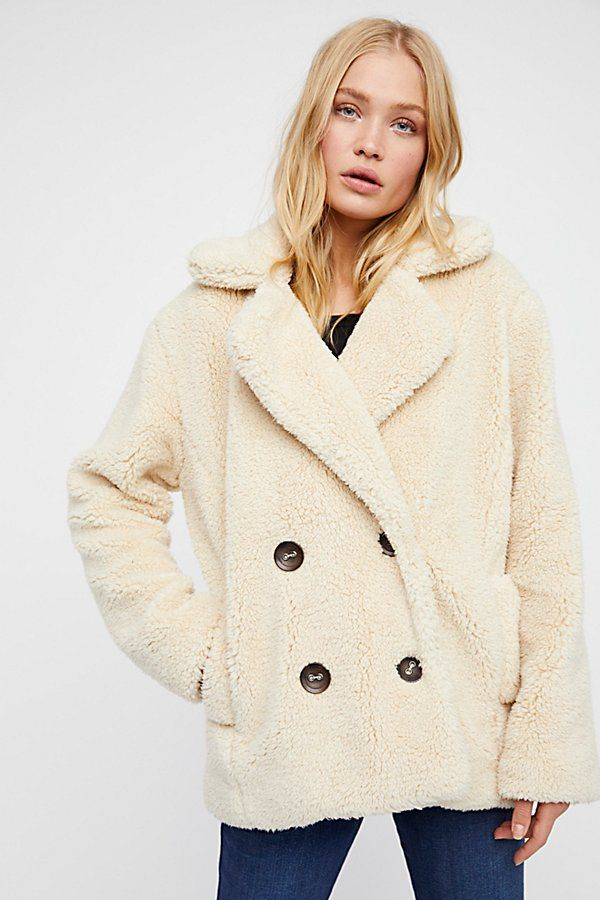 Teddy Peacoat by Free People