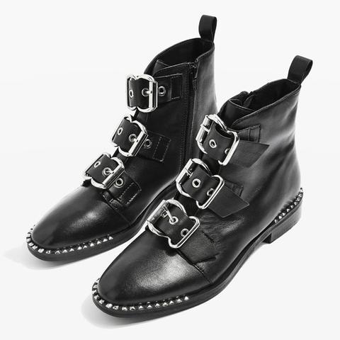 Alfie Buckle Boots