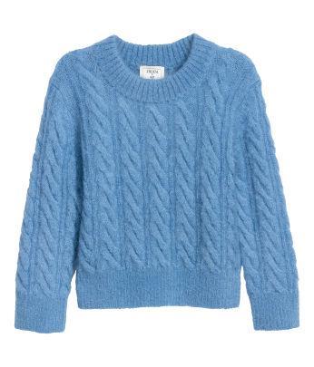 Short Mohair-blend Sweater