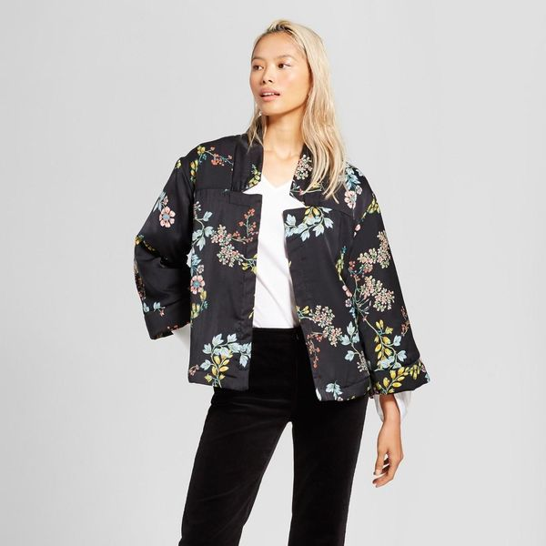 Quilted Kimono Jacket