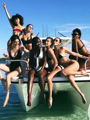 Inside Bella, Kendall, and Hailey's Stylish Girls Getaway