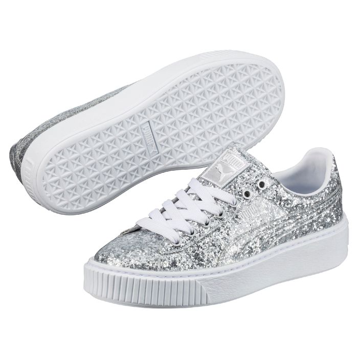 New Puma Glitter Sneakers | Who What Wear