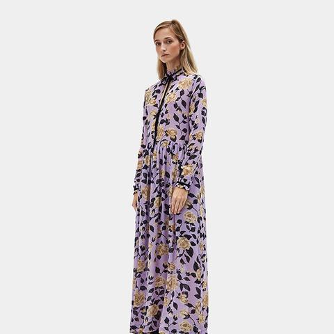 Carlton Georgette Maxi Dress