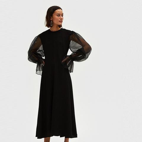 Harriet Organza Sleeve Dress