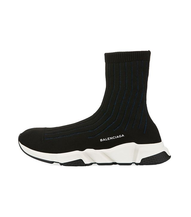 Speed Ribbed Low Trainer Sneaker