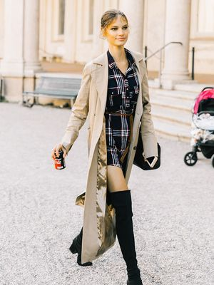 20 Thigh-High-Boot Outfits That Work Every Time