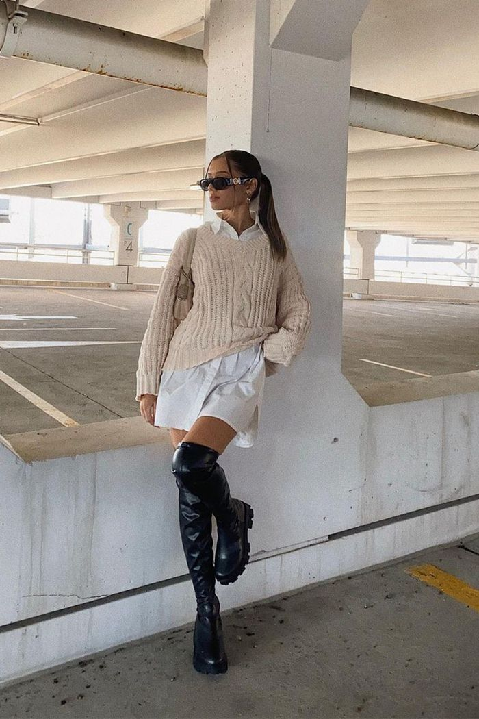 17 Thigh-High Boot Outfit Ideas We're