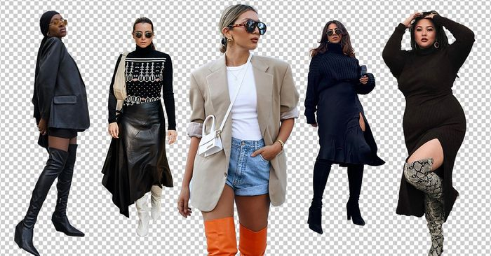 17 Thigh-High Boot Outfit Ideas We're Recreating This Season