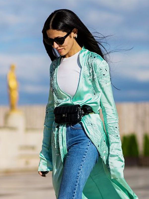 BELT BAG The belt bag (aka fanny pack) made a major resurgence this year, with fashion girls donning theirs high on the waist atop blazers, jeans, and dresses. This season's luxe versions...