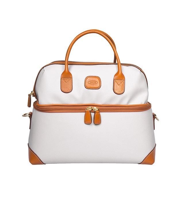 Bric's Firenze Cream Tuscan Train Case Luggage