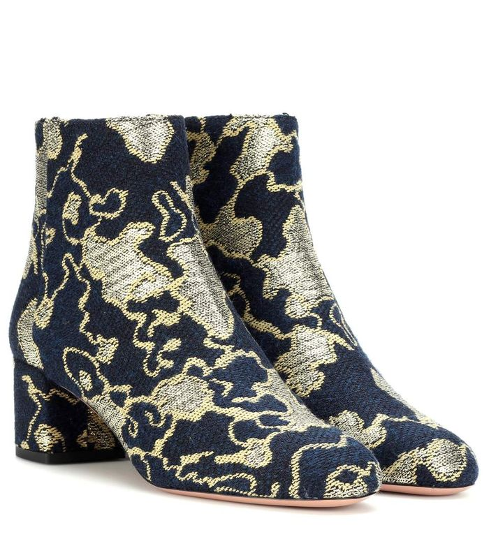 Exclusive to mytheresa.com – Brooklyn 50 brocade ankle boots