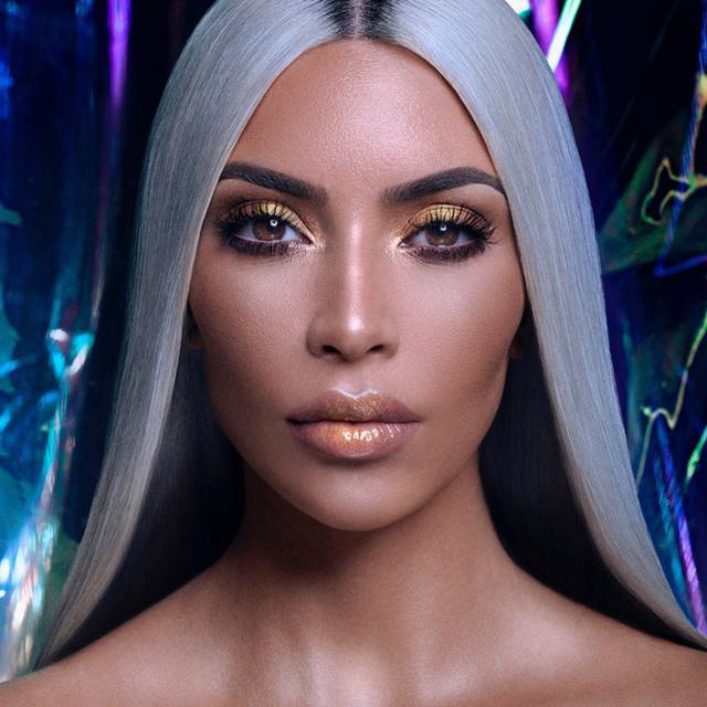 "Kim Kardashian on Unicorn Makeup, YouTube Tutorials, and Her ""Glitzy"" New Launch"