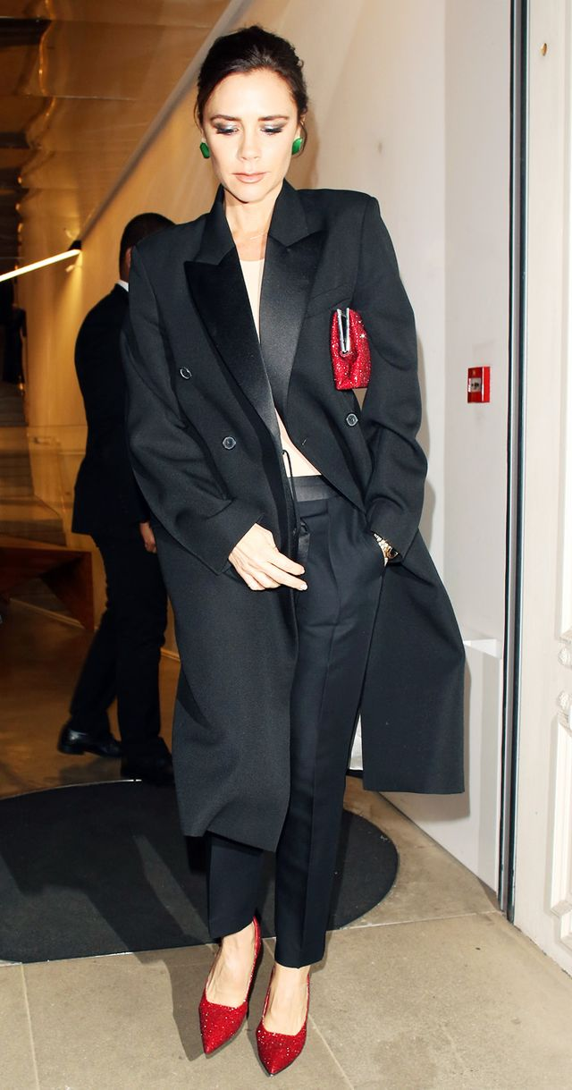 Victoria Beckham party outfit: