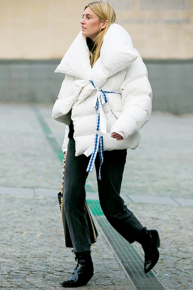 Camille Charriere Puffer Coat Street Style