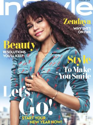 Zendaya Wore the Coolest Metallic Suit in Her New Cover Shoot